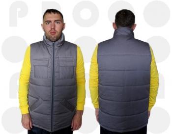 Заказать жилеты рабочие утепленные оптом от Украинского производителя. Заказать жилеты рабочие утепленные с доставкой во все регионы страны от производителя.
