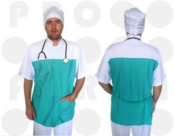 Заказать халаты медицинские оптом от Украинского производителя. Заказать халаты медицинские с доставкой во все регионы страны от производителя.